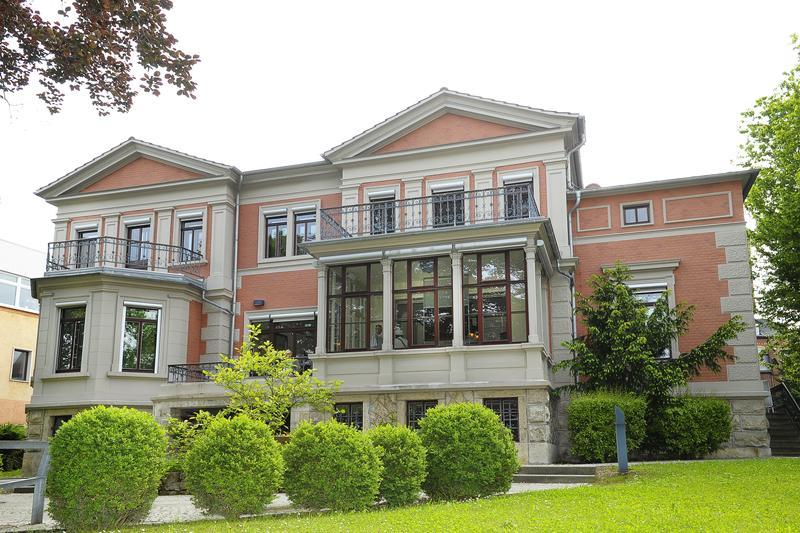 Exterior of the SCHOTT Villa in Jena, Germany