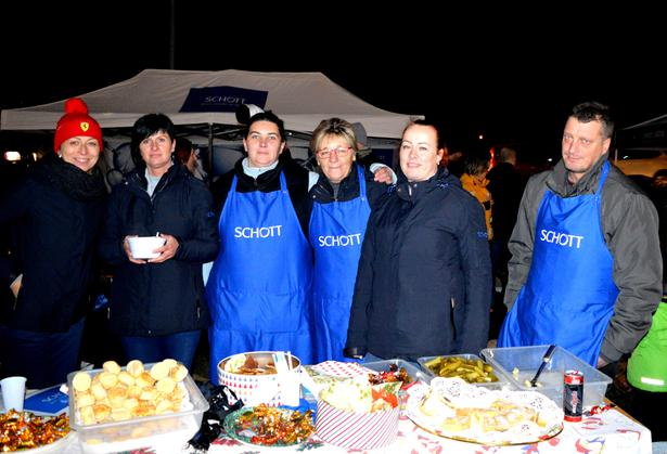 Charity cooking Hungary
